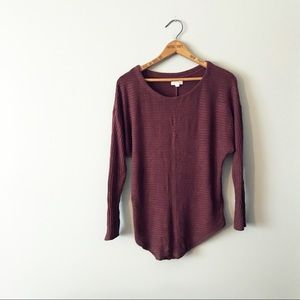 Silence + Noise Drop Shoulder Sweater Tunic